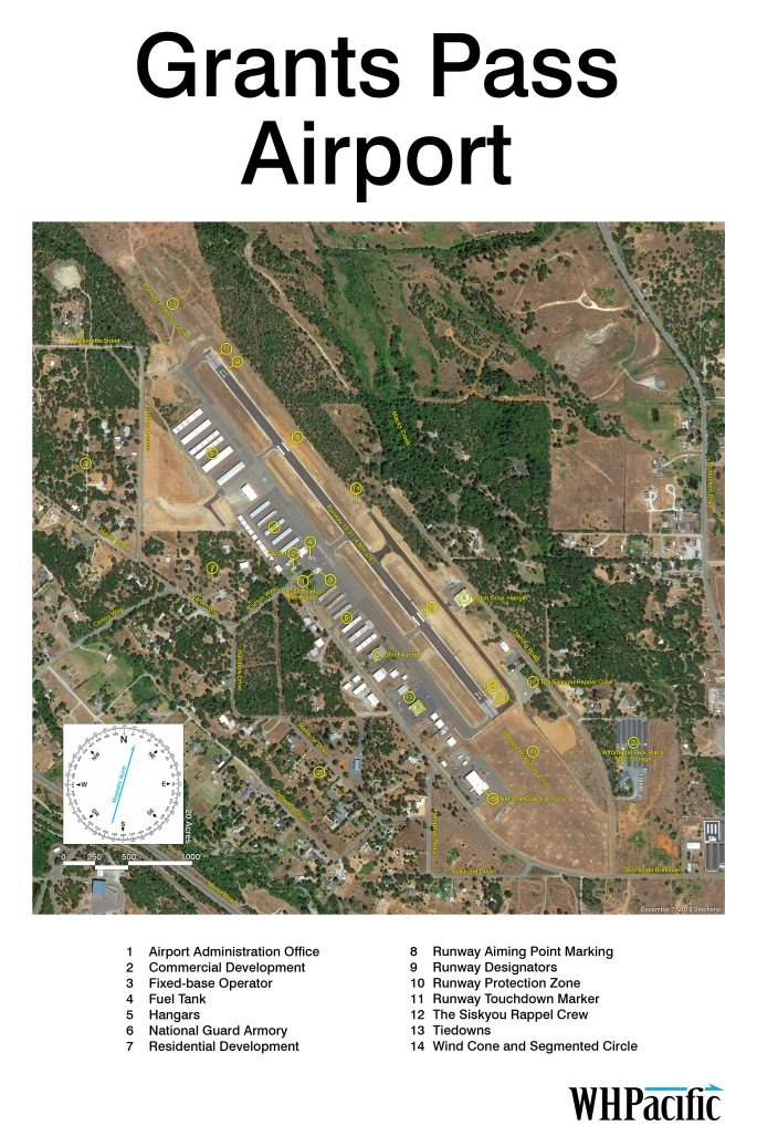 grants pass airport existing facilities