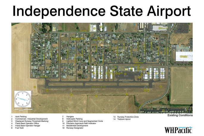 independence airport existing conditions