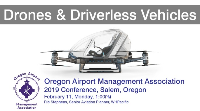 Drones and Driverless Vehicles