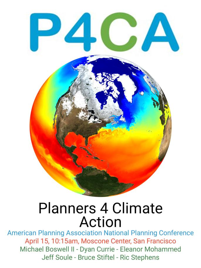 Planners 4 Climate Action